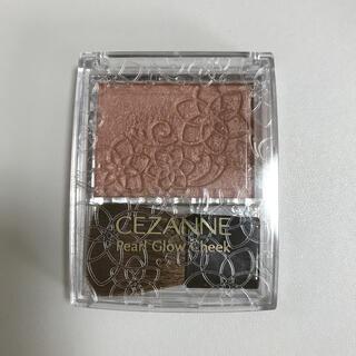CEZANNE(セザンヌ化粧品) - セザンヌ パールグロウチーク P3 シナモンオレンジ(2.4g)