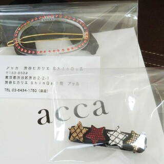 acca - アッカ  ヘアピン バレッタ  acca 2点