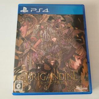 PlayStation4 - 【即日発送】ブリガンダイン ルーナジア戦記 PS4 美品