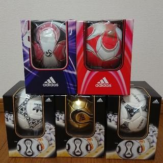 アディダス(adidas)のアディダス マッチボールレプリカミニ、ミニボール(飾り物) 5点セット(ボール)