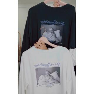 エイミーイストワール(eimy istoire)のeimy ♡ マリリンモンロー コラボT ♡ ⑤(Tシャツ(長袖/七分))