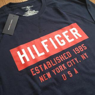 トミーヒルフィガー(TOMMY HILFIGER)のTOMMY HILFIGER トミーヒルフィガーロングスリーブTシャツ新品 (Tシャツ/カットソー(七分/長袖))