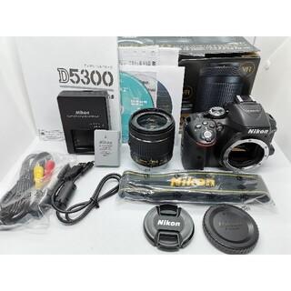 Nikon - ⭐最新レンズ一番人気WiFi一眼レフ⭐Nikon D5300AF−Pズームキット
