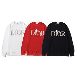 Christian Dior - 大人気❣DIOR スウェット トレーナー 男女兼用