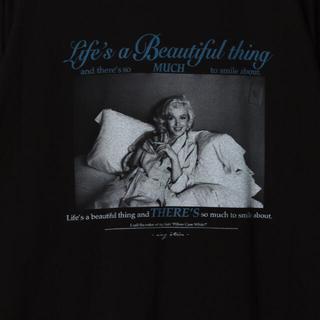 エイミーイストワール(eimy istoire)のeimy ♡ マリリンモンロー コラボT ♡ ⑥(Tシャツ(長袖/七分))