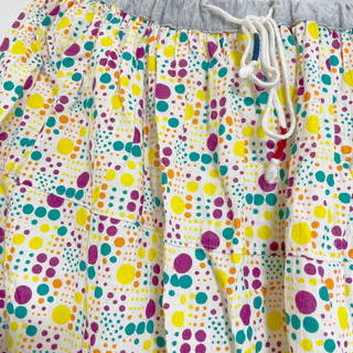 キューブシュガー(CUBE SUGAR)のCUBE SUGAR カラフルドットロングスカート(ロングスカート)
