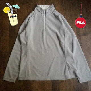 フィラ(FILA)のFILA フィラ ハイネック コーデュロイ フリース シャツ ジップアップ(トレーナー/スウェット)