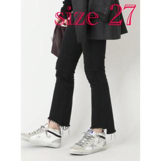 DEUXIEME CLASSE -  MOTHER BLACK INSIDER CROP 27インチマザー デニム