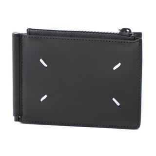 マルタンマルジェラ(Maison Martin Margiela)の21SS Maison Margiela 財布 マネークリップ ブラック(マネークリップ)
