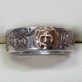 goro's - goro's ゴローズ リング 指輪 約22号 中古 後彫り
