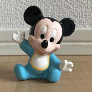 ミッキーマウス(ミッキーマウス)のベビーミッキーマウス☆置き物(キャラクターグッズ)