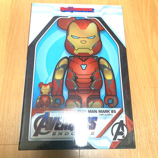 メディコムトイ(MEDICOM TOY)のBE@RBRICK IRON MAN MARK 85 100% & 400%(その他)