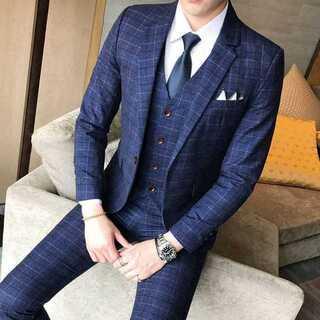 二次会 イベント 紳士 セットアップ 着痩せ ビジネス 定番  zb362(セットアップ)