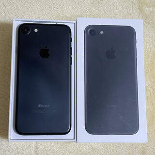 iPhone - 【美品】SIMフリー iPhone7 32GB ブラック 付属品なし
