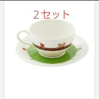 ファミリア(familiar)のファミリア ティーカップ 2セット コップ(食器)