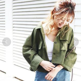 トゥデイフル(TODAYFUL)のCANAL JEAN♡ボナペティ♡ミリタリージャケット♡(ミリタリージャケット)