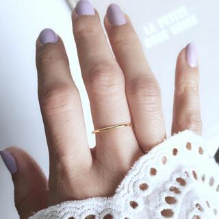 トゥデイフル(TODAYFUL)の再販【silver925×18kコーティング】華奢なシンプルリング(リング(指輪))