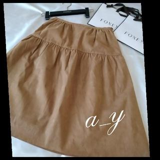 FOXEY - 【状態良好】FOXEY BOUTIQUE☆スエード調スカート