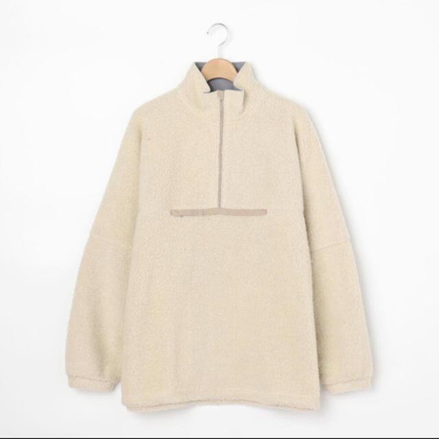 COMOLI(コモリ)のKAPTAIN SUNSHINE 20AWウールカシミヤフリースプルオーバー メンズのトップス(ニット/セーター)の商品写真