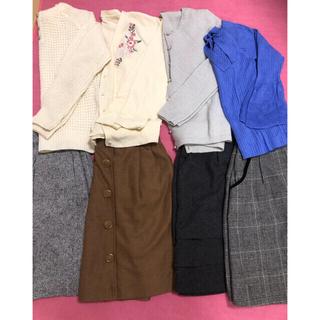 ミッシュマッシュ(MISCH MASCH)のレディース  洋服 冬物多め まとめ売り ①(セット/コーデ)