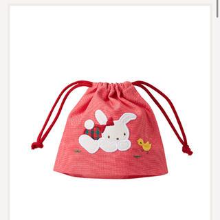 ファミリア(familiar)の新品・タグ付き ファミリア コップ袋(ランチボックス巾着)
