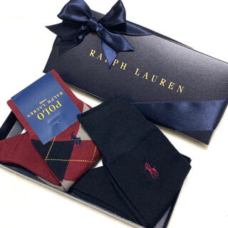 ポロラルフローレン(POLO RALPH LAUREN)のメンズ 新品 ラルフローレン ビジネスソックス 2組(ソックス)