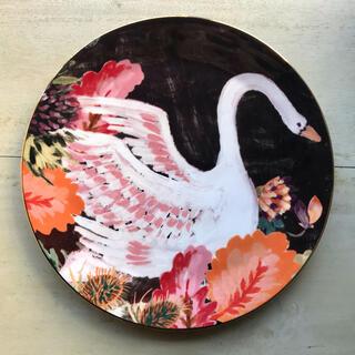 アンソロポロジー(Anthropologie)のアンソロポロジー  お皿(白鳥)(食器)