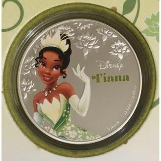 ディズニー(Disney)のティアナ 1オンス銀貨プルーフ 2016年ニウエ発行(貨幣)