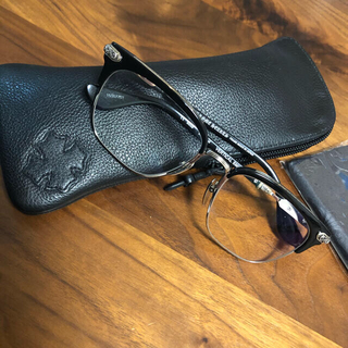 クロムハーツ(Chrome Hearts)のクロムハーツ verticalsmile II メガネ(サングラス/メガネ)