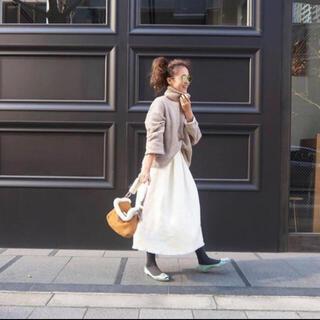 Chesty - rosymonster ロージーモンスター ツイードスカート  ホワイト