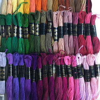 DMC オリンパス混合刺繍糸 50色50本