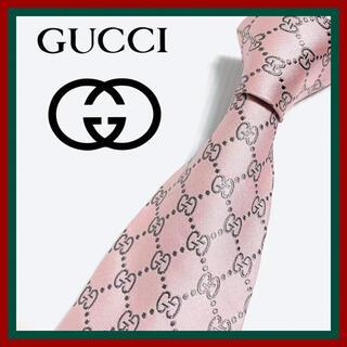 Gucci - グッチ GGロゴ シルクネクタイ イタリア製 定番・人気柄 高級ブランド