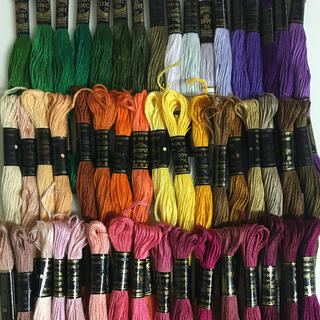 DMC オリンパス混合刺繍糸 50色50本  15