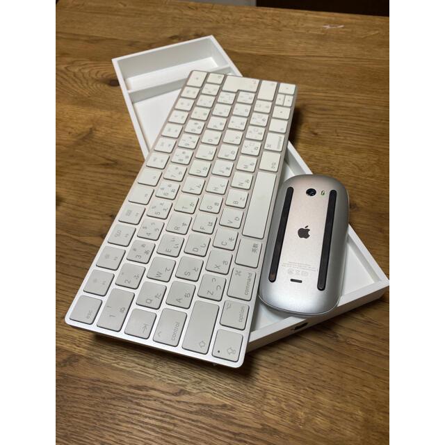Apple(アップル)のApple Magic keyboard apple Magic mouse2  スマホ/家電/カメラのPC/タブレット(PC周辺機器)の商品写真