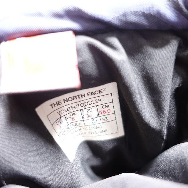 THE NORTH FACE(ザノースフェイス)の[THE NORTH FACE] スノーシューズ ネイビー キッズ16㎝ キッズ/ベビー/マタニティのキッズ靴/シューズ(15cm~)(その他)の商品写真