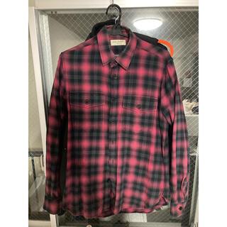 Saint Laurent - 国内正規品 サンローラン チェックシャツ S キムタク