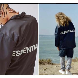 エッセンシャル(Essential)のフィアオブゴッド エッセンシャルズ コーチジャケット(ナイロンジャケット)