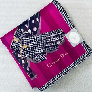 Christian Dior - 新品 Christian Diorハンカチ♡訳ありです