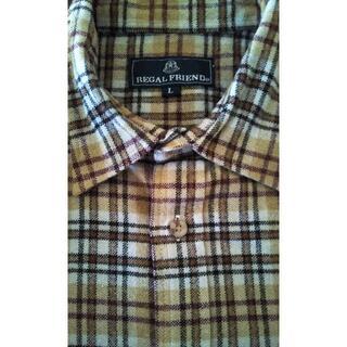 REGAL - REGAL リーガル チェックシャツ ネルシャツ