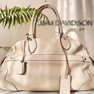 ジェイアンドエムデヴィッドソン(J&M DAVIDSON)の正規品 J&M DAVIDSON 約15万 総本革 レザートートバッグ(ショルダーバッグ)