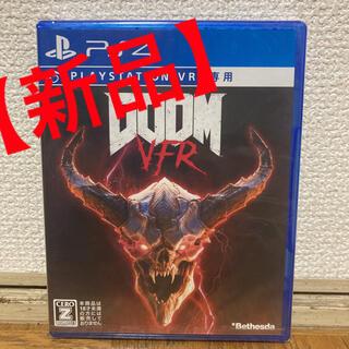 プレイステーションヴィーアール(PlayStation VR)の【新品】PSVR DOOM VFR(家庭用ゲームソフト)