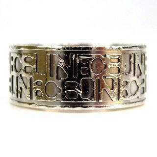 セリーヌ(celine)のCELINE セリーヌ ロゴ リング サイズ10 SV925 17-370(リング(指輪))