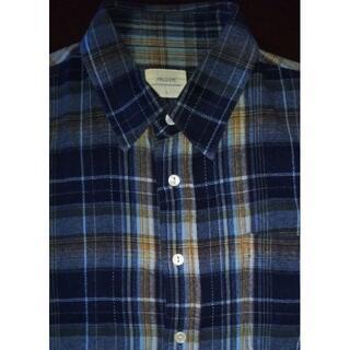 ザラ(ZARA)のFIELDEYE ブルー チェックシャツ ネルシャツ(シャツ)
