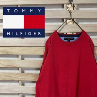 トミーヒルフィガー(TOMMY HILFIGER)のTOMMY HILFIGER トミーヒルフィガー★ワンポイントロゴ セーター(ニット/セーター)