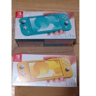 任天堂 - ニンテンドースイッチ ライト switch イエロー&ターコイズ 2台セット