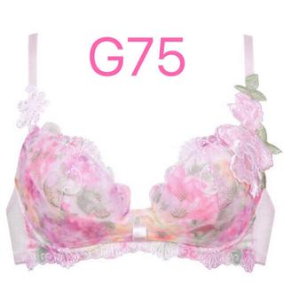 Wacoal - 新品 ワコール サルート 12 リボンブラ G75 バルセロナ SP ピンク