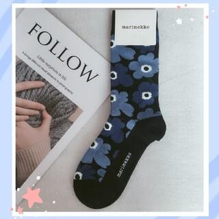 marimekko - 新色★マリメッコ❤Marimekko 定番ウニッコの靴下♪