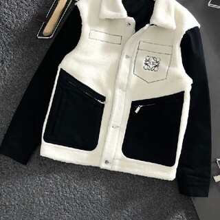 LOEWE - ロエベ コート 起毛 防寒 ジャケット