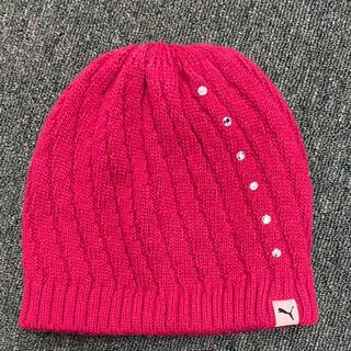 プーマ(PUMA)のPUMA⭐︎プーマ⭐︎女の子⭐︎ニット帽(帽子)