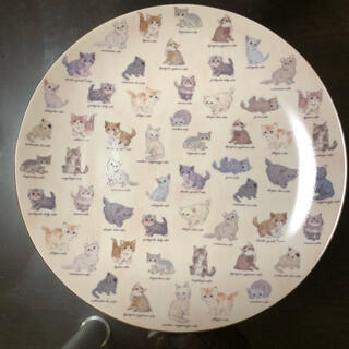 フランシュリッペ(franche lippee)の猫図鑑 皿(食器)